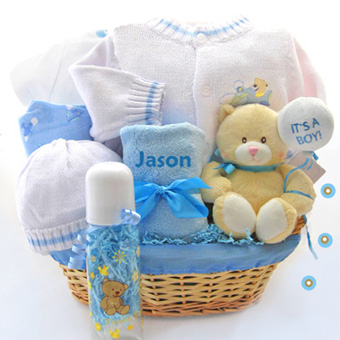 gift hamper for new born baby